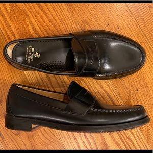 EUC Brooks Brothers Loafers, Black